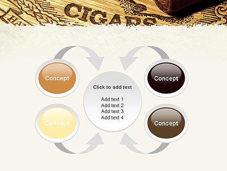 Cuban Cigars PowerPoint Template Slide 6