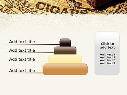 Cuban Cigars PowerPoint Template Slide 8
