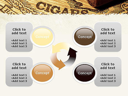 Cuban Cigars PowerPoint Template Slide 9
