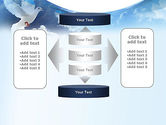 White Dove PowerPoint Template#13