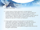 White Dove PowerPoint Template#2