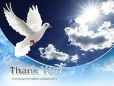 White Dove PowerPoint Template#20