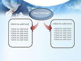 White Dove PowerPoint Template#4