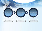 White Dove PowerPoint Template#5