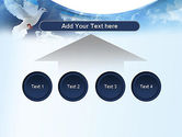 White Dove PowerPoint Template#8