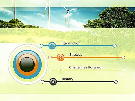 Wind PowerPoint Template, Slide 3, 10835, Technology and Science — PoweredTemplate.com