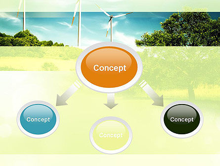 Wind PowerPoint Template, Slide 4, 10835, Technology and Science — PoweredTemplate.com