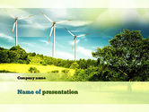 Technology and Science: Wind PowerPoint Template #10835
