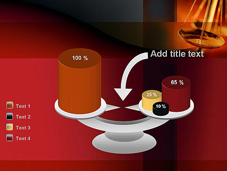 Scales of Justice PowerPoint Template Slide 10