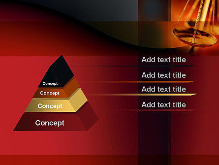 Scales of Justice PowerPoint Template Slide 12
