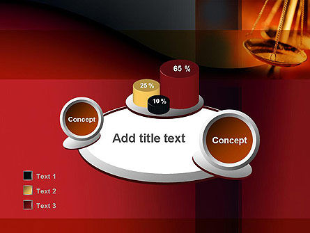 Scales of Justice PowerPoint Template Slide 16
