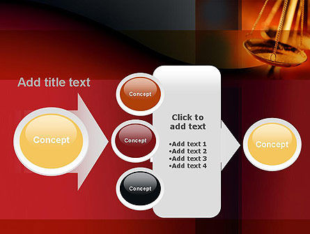 Scales of Justice PowerPoint Template Slide 17