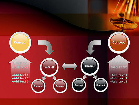 Scales of Justice PowerPoint Template Slide 19