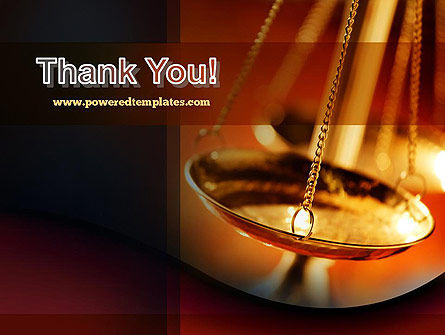 Scales of Justice PowerPoint Template Slide 20