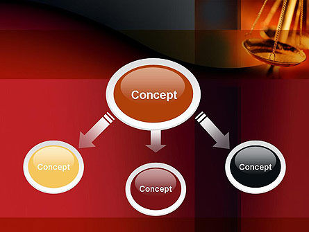 Scales of Justice PowerPoint Template Slide 4