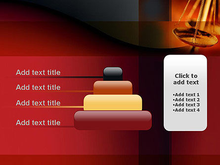 Scales of Justice PowerPoint Template Slide 8