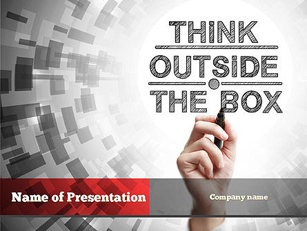 Think Outside the Box PowerPoint Template