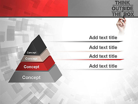 Think Outside the Box PowerPoint Template Slide 12