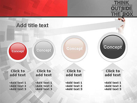 Think Outside the Box PowerPoint Template Slide 13