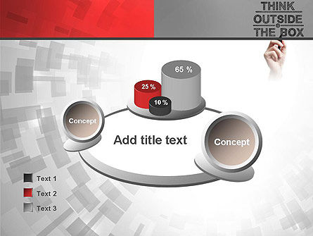 Think Outside the Box PowerPoint Template Slide 16