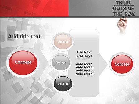 Think Outside the Box PowerPoint Template Slide 17