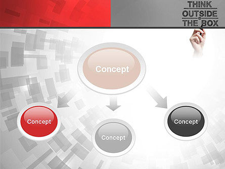 Think Outside the Box PowerPoint Template Slide 4