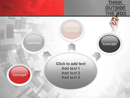 Think Outside the Box PowerPoint Template Slide 7