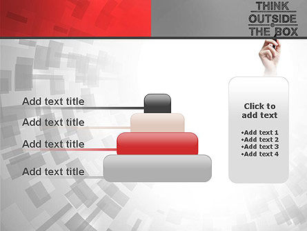 Think Outside the Box PowerPoint Template Slide 8