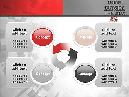 Think Outside the Box PowerPoint Template Slide 9
