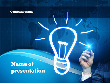Idea Generation PowerPoint Template, 10839, Business Concepts — PoweredTemplate.com