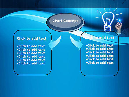 Idea Generation PowerPoint Template, Slide 4, 10839, Business Concepts — PoweredTemplate.com