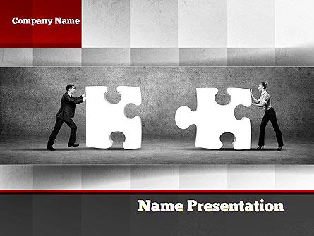 Mediation PowerPoint Template, 10843, People — PoweredTemplate.com