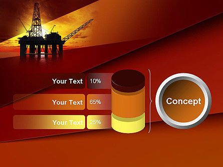 Oil Rig PowerPoint Template Slide 11