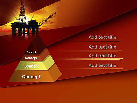 Oil Rig PowerPoint Template Slide 12