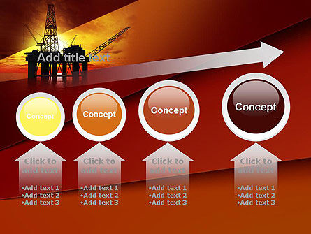 Oil Rig PowerPoint Template Slide 13