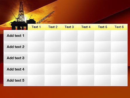 Oil Rig PowerPoint Template Slide 15