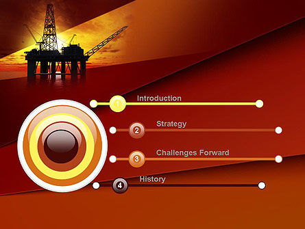 Oil Rig PowerPoint Template Slide 3