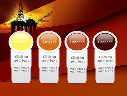 Oil Rig PowerPoint Template Slide 5