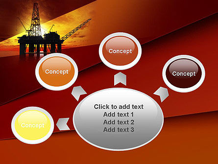 Oil Rig PowerPoint Template Slide 7