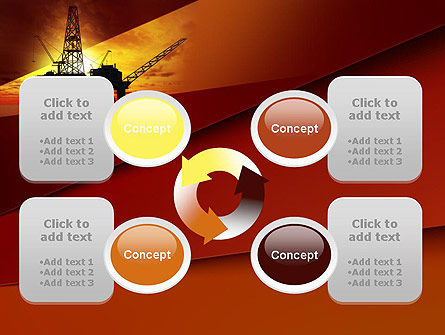Oil Rig PowerPoint Template Slide 9