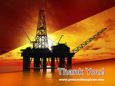 Oil Rig PowerPoint Template#20