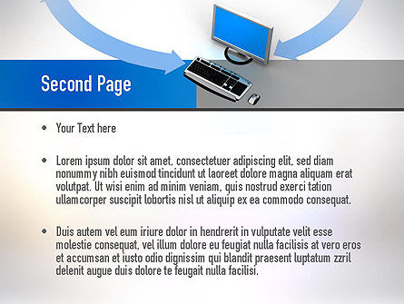Intranet PowerPoint Template Slide 2
