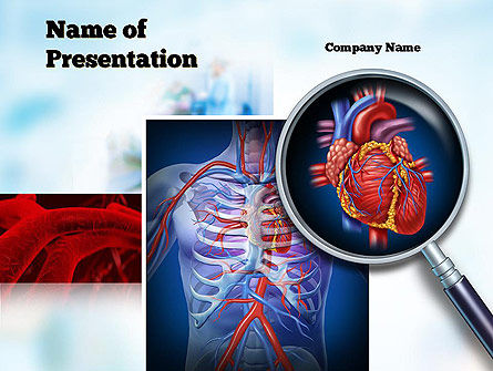 cardiac surgery powerpoint template, backgrounds | 10850, Modern powerpoint