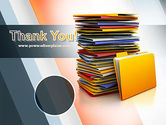 Stack of Folders PowerPoint Template#20