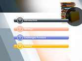 Stack of Folders PowerPoint Template#3