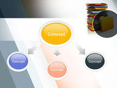 Stack of Folders PowerPoint Template#4