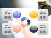 Stack of Folders PowerPoint Template#9