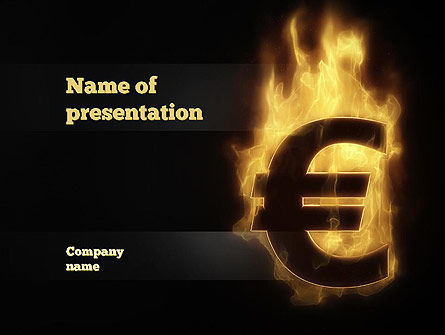 Eurozone Crisis PowerPoint Template, 10855, Financial/Accounting — PoweredTemplate.com