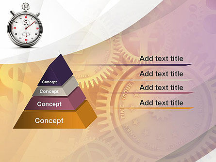 Time and Money PowerPoint Template Slide 12