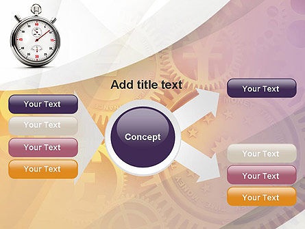 Time and Money PowerPoint Template Slide 14
